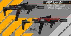ArtStation - Takeda 10mm SMG WIP, Wesley Johnson