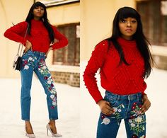 More looks by Melody Jacob: http://lb.nu/melodygodisable  #denim #embroidered #street