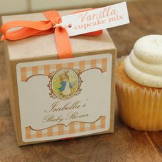12 Peter Rabbit Baby Shower Favors by VintageBakeshopEtsy, $39.00
