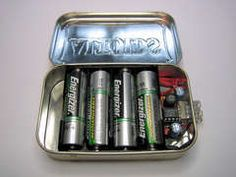 DIY USB Charger using Altoids Tin