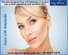 Non-Surgical #FaceLift can be a better option to get a Face Lift without Surgery in Adelaide. One of the benefit of the non surgical or invasive face lift procedure is that this is often less expensive and require a shorter recovery time. For more info please contact us on 08 8297 1476 or visit: http://bit.ly/1qGiJBO