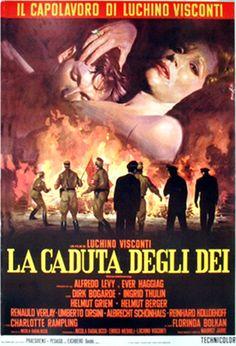 """La caduta degli Dei"" (1969). Country: Italy. Director: Luchino Visconti. Cast: Dirk Bogarde, Ingrid Thulin, Helmut Berger, Helmut Griem, Charlotte Rampling"