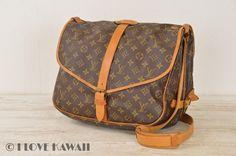 Louis Vuitton Monogram Saumur 35 Shoulder Bag M42254