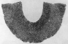 European (German) riveted mail collar, 16th century, Gift of Prince Albrecht Radziwill, 1927, Met Museum.