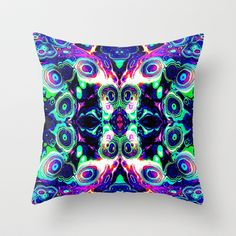 "I am having a great time on Society6.com following my artistic dream. Health issues my mindset is where there is a will there is away... Throw Pillow  / Indoor Cover (16"" x 16"")    Christa Bethune Smith, Cabsink09 (cabsink09)  Pattern135 by Christa Bethune Smith, Cabsink09  	 . $20.00"
