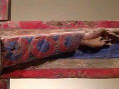 Procés de pintura de la Majestat Batlló (s. XII, MNAC - Barcelona) - YouTube