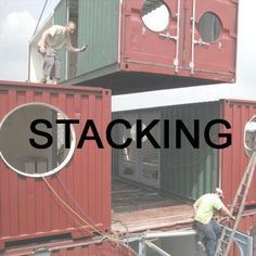 Build a Container Home Shipping Container Design, Cargo Container Homes, Building A Container Home, Container Cabin, Storage Container Homes, Container House Design, Shipping Containers, Shipping Container House Plans, Container Architecture