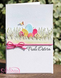 Karten für Ostern mit Stampin Up Stempelset Osterkörbchen