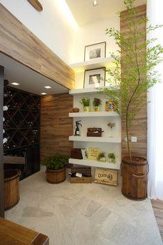 Adega Gourmet by Teresa Gouveia - Floor to ceiling niche