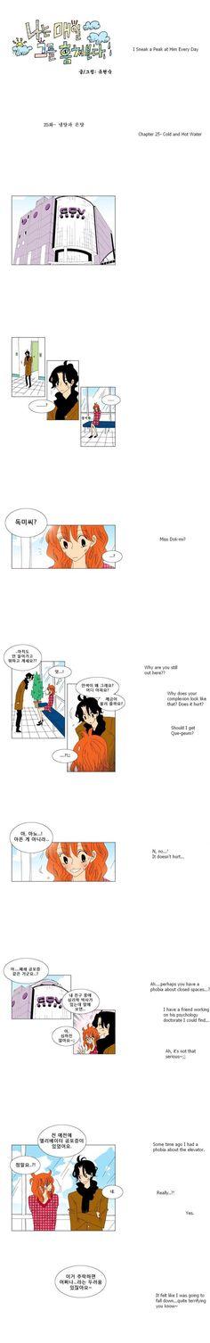 [Webtoon] I Sneak A Peak At Him Every Day 25 @ HanCinema :: The Korean Movie and Drama Database
