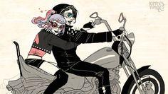 kippery:  Miles and Valora ridin'