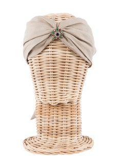 Turbante SALOMON / Hippie, boho-chic, ethnic style. Fashion, Casual Style. Rosebell linen turban - Beach style