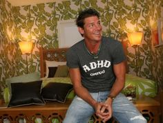Ty Pennington  Pennington, who was diagnosed with ADHD in college, said in the London-based Metro newspapers that carpentry is what helps ke...