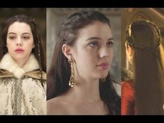 3 Reign Queen Mary Inspired Hairstyles   Amanda L - YouTube