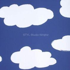 Tapeta ścienna dla dzieci nr 11095501 Chmury