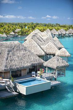 The St. Regis Bora Bora Resort—Royal Over Water Villa | Flickr - Photo Sharing!