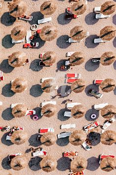 Aerial Photography, Artistic Photography, France Drawing, Abstract Animals, Beach Umbrella, Coastal Art, Framed Prints, Art Prints, Cool Posters