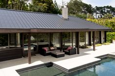 Sophisticated Look with New Standing Seam Roof Profile