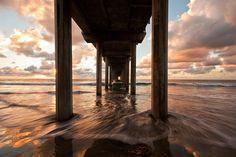 Sundown at Scripps, La Jolla, San Diego, California