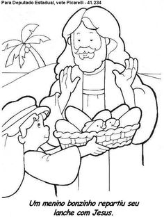jesus feeds the 5000 coloring page design feeds coloring page fed home bible story coloring pages jesus feeds 5000 Fish Activities, Sunday School Activities, Bible Activities, Sunday School Lessons, Sunday School Crafts, Fish Coloring Page, Bible Coloring Pages, Coloring Books, Bible Story Crafts