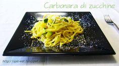 spirEat: Carbonara di zucchine.