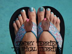 """@TawdryTerrier """"Tropical Terrier"""" - 1 bottle available at https://www.etsy.com/shop/TawdryTerrier #nailpolish #indienailpolish #tawdryterrier"""