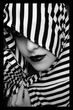 Beautiful black & white stripes