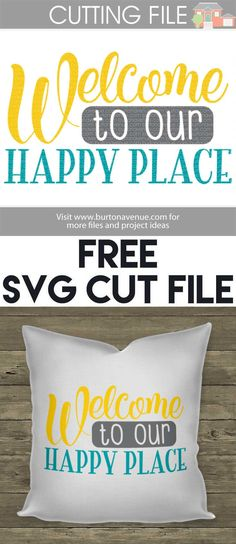 Free SVG Cut Files for Silhouette, Cricut, and more.