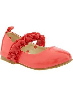 Ruffle-Strap Mary-Janes for Baby | Old Navy