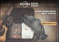 Travel in style with Hard Rock Mens Fashion. #Manchester #Fashion #ThisIsHardRock