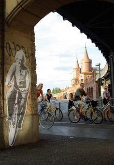 Einstein cycles by Peter Drew #AlbertEinstein #Cycle #Bicycle #PeterDrew