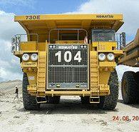 Komatsu Haulpack 730 E Rock Trucks