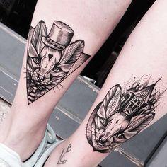 Les superbes tatouages ornementaux et graphiques de Jessica Kinzer   Inkage