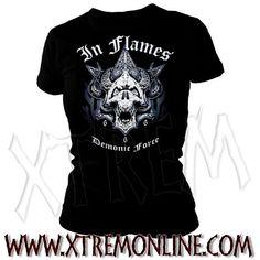 Camiseta de In Flames - Demonic Force.