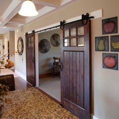 Making a barn-style sliding door is a reasonably simple project that uses reclaimed wood or PAR pine and some hardware. A sliding barn door ...