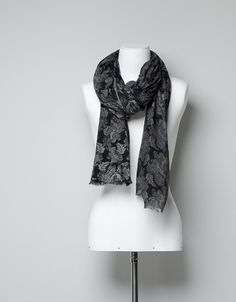 BROCADE-PRINT SCARF - Woman - New this week - ZARA United States