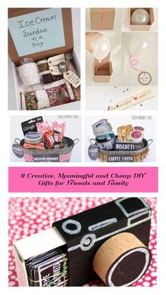 11 creative, meaningful and affordable DIY gifts for friends and family . - 11 creative, meaningful and affordable DIY gifts for friends and family - Diy Gifts Cheap, Diy Gifts For Dad, Diy Gifts For Friends, Easy Diy Gifts, Best Friend Gifts, Creative Gifts, Cheap Presents, Bff Gifts, Handmade Gifts
