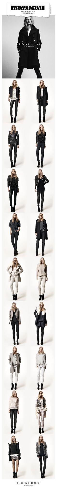 Hunkydory Stockholm Fall Winter 2012 Collection