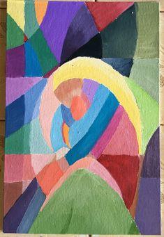 """""""Dear mom"""" - oil on canvas, by Fernanda Suhet"""