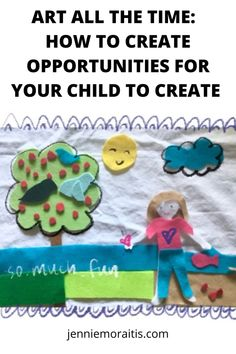 I love to make art, but I don't always like to set it up and clean up afterwards. But that doesn't mean my kiddo can't create on her own! Here are some of the many ways I make art and creativity accessible for her on a daily basis. Cute Crafts, Creative Crafts, Diy Crafts For Kids, Easy Crafts, Diy Craft Projects, Projects For Kids, Trending Crafts, Toilet Paper Roll Crafts, All Things Cute