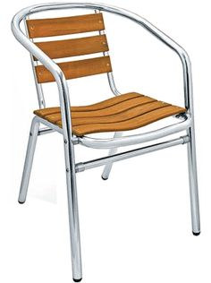 Teak Aluminum Ladder Back Chair Restaurant Furniture Commercial Outdoor Seating Metal Chairs Metal Stools Aluminum Chairs bar stool barstool Restaurant Tables And Chairs, Outdoor Restaurant, Restaurant Furniture, Outdoor Armchair, Outdoor Chairs, Outdoor Decor, Ladder Back Chairs, Wholesale Furniture, Outdoor Garden Furniture