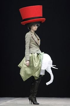 """""""Let's go trough those measurements again with the milliner/ hat maker"""", pinned by Ton van der Veer"""