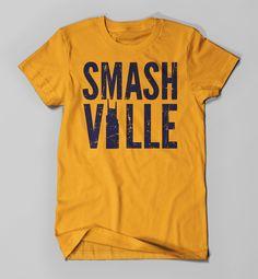 75f86b392d0 Nashville Predators Victory Arch Big   Tall T-Shirt - Navy in 2019 ...