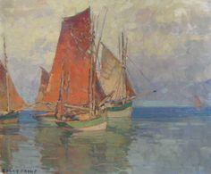Edgar Payne sailboats