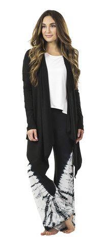 Aruba Bamboo Flair Pants : Black Tie Dye – Sassimi