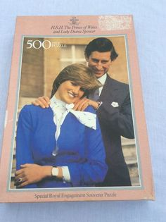 H.R.H The Prince of Wales and Lady Diana Spencer 500 Piece Jigsaw VINTAGE 1981 in Collectables, Royalty, Princess Diana | eBay