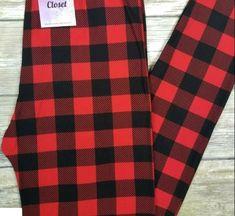 Black Butterfly Women/'s Leggings PS Plus Size TC 12-20 Super Soft White Red