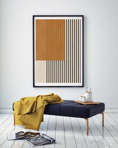 Mid Century Wall Art, Mid Century Modern Art, Extra Large Wall Art, Large Art, Muse Art, Home Room Design, Modern Art Prints, Minimalist Art, Wall Art Designs