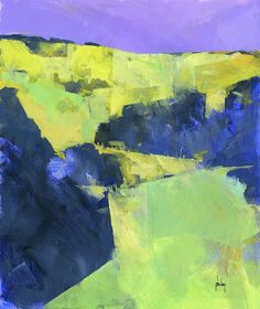 Paul Bailey - Contemporary Artist - Landscapes - UpHill
