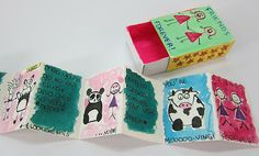 Upper School Art (Grades 7-12): Match Box Art Project Like this idea, tell a story with pictures that fits in a matchbox